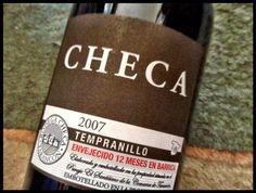 El Alma del Vino.: Bodega Checa Tempranillo 2007.