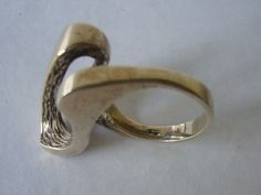 RS Sterling silver ring