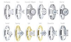 Engagement Ring Guide: Settings & StylesWedding Blog | Confetti Daydreams