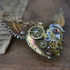 Post apocalyptic jewelry Industrial necklace by steelhipdesign, $135.00