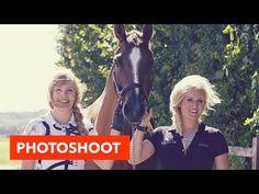 Achter de schermen bij photoshoot l PaardenpraatTV - YouTube