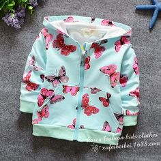 Cardigan Cotton Butterfly Jacket