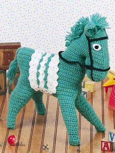 Crocheted Horse Free pattern