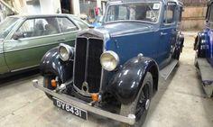1935 Lanchester Ten Saloon Vintage Cars, Antique Cars, Jaguar Daimler, Civil Aviation, Cars And Motorcycles, Hot Rods, Planes, Transportation, Classic Cars