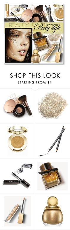 """""""New Year Beauty"""" by leanne-mcclean ❤ liked on Polyvore featuring Nude by Nature, Milani, Chantecaille, Bobbi Brown Cosmetics, Burberry and Christian Dior"""