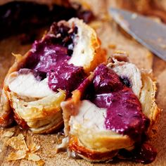 Blueberry and Brie Stuffed Turkey Wellington Recipe - RecipeChart.com