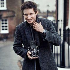 Edie Redmayne for Omega watches pictures | Harper's Bazaar