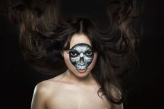 Skull and beauty