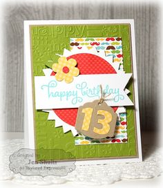 Happy Birthday by Jen Shults Taylored Expressions