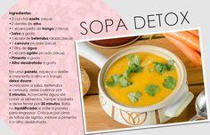 Sopa detox (Foto: Arte Vogue Online)