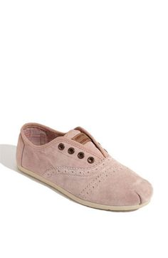 TOMS 'Cordones' Slip-On so cute <3