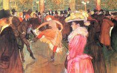 Henri de Toulouse-Lautrec - At the Moulin Rouge 1890
