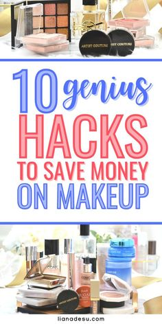 Are you tired of spending so much money on makeup? I've discovered 10 different ways to save money on makeup so I never have to pay full price for any makeup. Today, I'll let you in on my secrets - 10 ways to save money on makeup you must know! #makeup #savingmoney #frugal Elf Makeup Dupes, Best Drugstore Makeup, Best Makeup Products, Makeup Tips, Beauty Products, Makeup For Older Women, Makeup For Teens, Makeup Tutorial For Beginners, Makeup To Buy