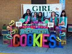 Don't forget to submit your booth to marketing@hngirlscouts.org for a chance to win our #BlingYourBooth contest.
