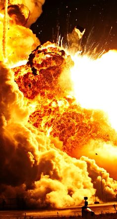 #fire #explosion