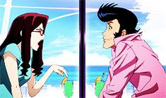 "Space Dandy Ep 23 (2-10) Scarlet and Dandy ""I chose you because even if we were the last two humans alive, there would be no way I would fall in love with you."""