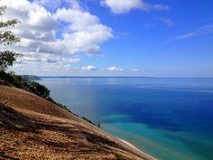 Sleeping Bear Dunes National Lakeshore on Lake Michigan.