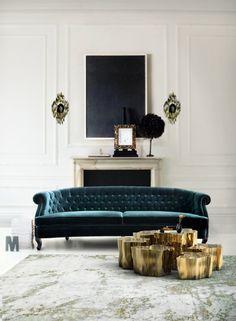 Eden series coffee table by Boca do Lobo #moderncoffeetables modern design #livingroomdesign coffee tables #moderndesignideas modern living room . See more inspirations at www.coffeeandsidetables.com