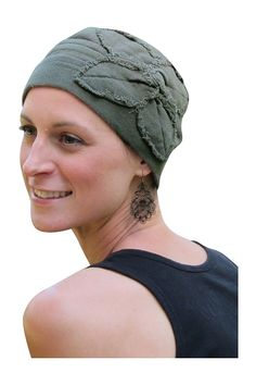 Butterfly Beanie Cotton Chemo Cap for Cancer Patients by Parkhurst Hats -- Click on the image for additional details.