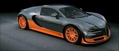 Bugatti super sport. World record edition.