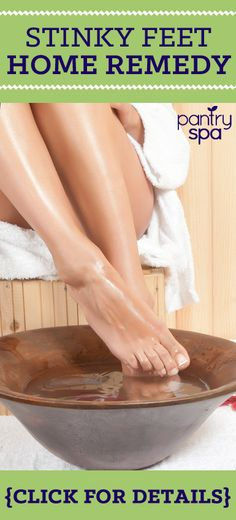 Doctor Oz said gave a great home remedy for smelly feet! Baking soda, which is something that my family used for many generations, is great because it absorbs odors and moisture.