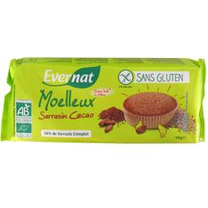 Naturalia, magasins bio et nature - moelleux-cacao-sg-180g - epicerie-sucree - biscuits-au-chocolat