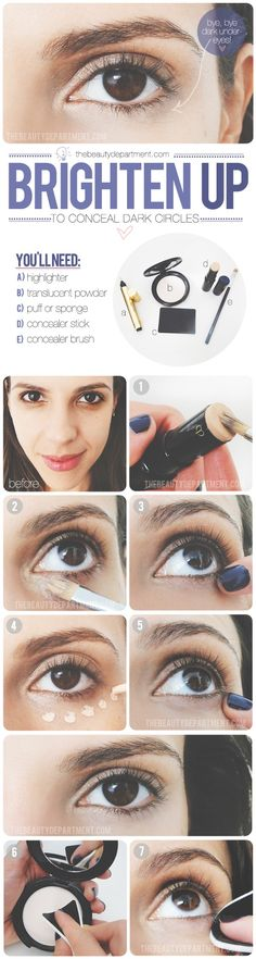 56 Trendy Makeup Tips For Dark Circles Concealer Style - Les sourcils All Things Beauty, Beauty Make Up, Hair Beauty, The Beauty Department, Beauty Tutorials, Beauty Hacks, Beauty Tips, Look Dark, Dark Red