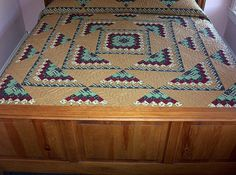 """Southwestern Quilt Designs and Patterns   Available in King Size 114""""x114"""""""