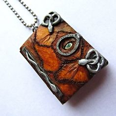 """Spellbook Locket, $75.00   12 Magical """"Hocus Pocus"""" Items You Can Buy On Etsy"""