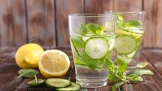This infused water recipe from nutritionist J.J. Smith will keep you hydrated and slim.