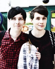 Dan and phil... :3