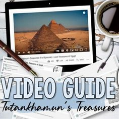Video guide to be used with National Geographic's, Tutankhamun's Treasures Lost Treasures of Egypt. This resource includes an answer key, teacher tips, and a link to a Quizlet vocabulary set. This resource is editable. If you prefer a paper copy, simply download as a PDF and print.National Geographi... Howard Zinn, Valley Of The Kings, Tutankhamun, Disney Plus, History Class, Teacher Hacks, New Technology, National Geographic, Vocabulary