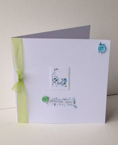 Greeting Card,Wedding,Handmade Can Be Personalised £1.95