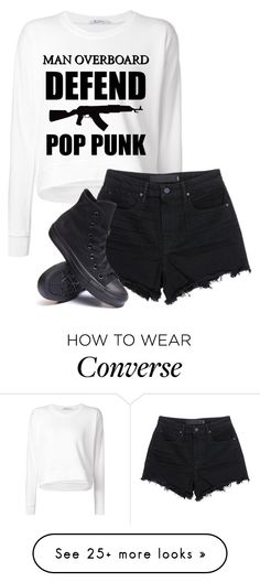 """""""Untitled #590"""" by bands-are-my-savior on Polyvore featuring Alexander Wang, T…"""