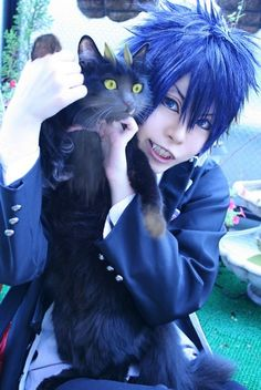 Ao no Exorcist - Okumura Rin cosplay