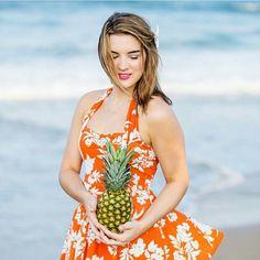 Marie swim dress in Tangerine  #reyswimwear #whosaysithastobeitsybitsy #modestswimsuits  www.reyswimwear.com