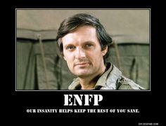 ENFP: Alan Alda (c/o CBS-TV and Google Images)
