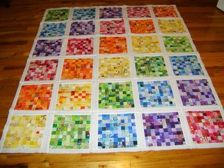 i want to make this postage stamp quilt!