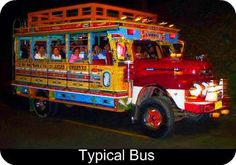 CHIVA!!!   Typical Bus