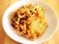 Presque végé: Gratin de macaroni à la mexicaine