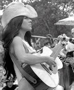 Buffy Sainte-Marie at the Newport Folk Festival, 1969.