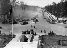 A Soviet victory parade in Berlin, September 1945.