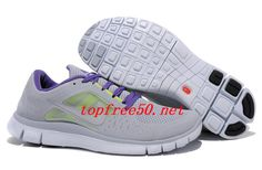 online store 85065 4e225 4Nrr44 Wolf Grey Reflective Silver Pure Platinum Nike Free Run 3 Men s Running  Shoes