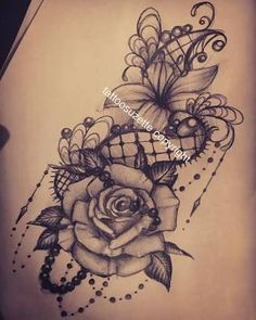 """Search result for """"lace tattoo"""" tattoo - tattoo quotes - tattoo fonts - watercolor tattooS Lace Tattoo Design, Sketch Tattoo Design, Flower Tattoo Designs, Tattoo Designs For Women, Tattoo Sketches, Tattoos For Women, Cool Tattoos For Girls, Design Tattoos, Lace Flower Tattoos"""
