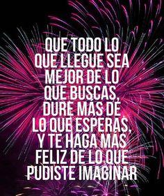Los mejores #Deseos de Año Nuevo que debes compartir con tus seres queridos. #Frases #FrasesDeAñoNuevo #AñoNuevo