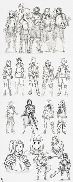 sketchatorium ✤ || CHARACTER DESIGN REFERENCES | キャラクターデザイン • Find more at https://www.facebook.com/CharacterDesignReferences if you're looking for: #lineart #art #character #design #illustration #expressions #best #animation #drawing #archive #library #reference #anatomy #traditional #sketch #development #artist #pose #settei #gestures #how #to #tutorial #comics #conceptart #modelsheet #cartoon || ✤: