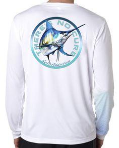 Microfiber Long Sleeve UPF 50 American Flag Tarpon Fishing Shirt Pink