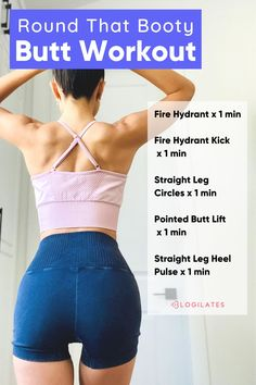 Get a round butt and a natural butt lift with this at home butt workout! Check out the 7 day glute challenge and workout your legs, butt, and glutes! Tap through to Blogilates for the full workout, more workout challenges, fitness inspiration, and more! Glute Challenge, Push Up Challenge, Cardio Pilates, Cardio Boxing, Fitness Journal, Fitness Tips, Fitness Motivation, Fun Workouts, At Home Workouts