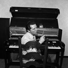"Circa 1975, Boston, MA — Jerry Lee Lewis a.k.a. ""The Killer"""