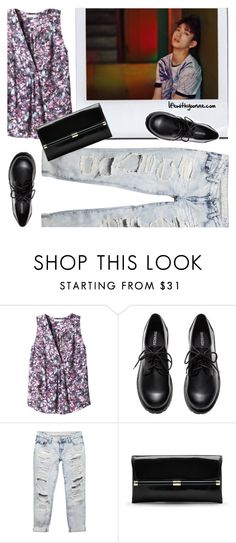 """Got7 'If You Do' Junior inspired by outfit"" by yooane on Polyvore featuring Rebecca Taylor, H&M, Wet Seal, Diane Von Furstenberg, Junior and GOT7"